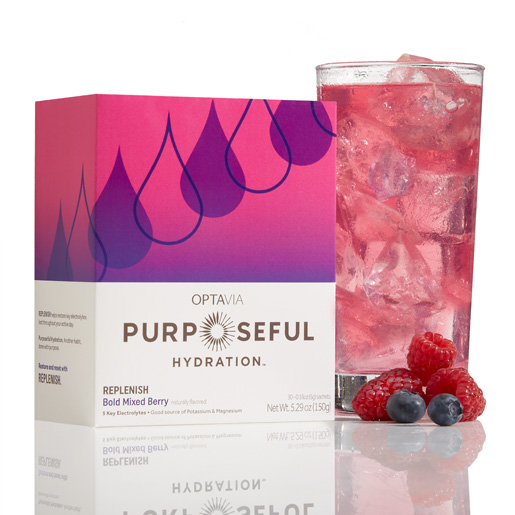 Purposeful Hydration® REPLENISH - Bold Mixed Berry (Naturally Flavored) (Box)