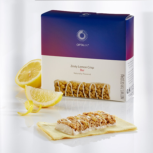 Essential Zesty Lemon Crisp Bar (Box)
