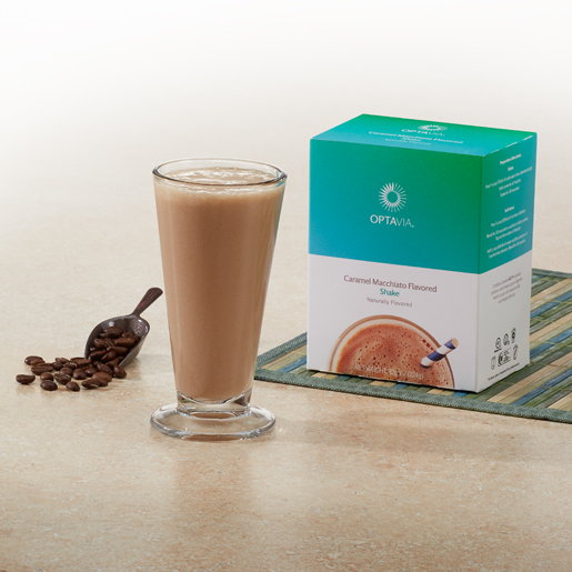 Essential Caramel Macchiato Flavored Shake (Box)