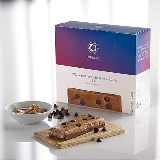 Essential Silky Peanut Butter and Chocolate Chip Bar (Box)
