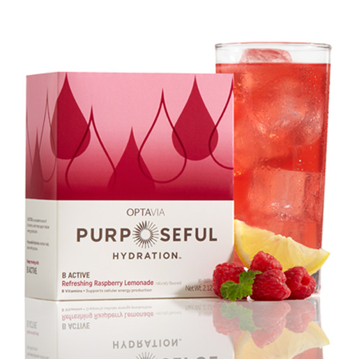Purposeful Hydration® B ACTIVE - Refreshing Raspberry Lemonade (Naturally Flavored) (Box)