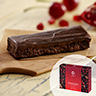 Select Chocolate Cherry Ganache Bar with Dried Cherries; Pomegranate; and Chia Seeds  (Box)