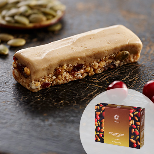Select Honey Chili Cranberry Nut Bar with Flaxseeds; Pumpkin Seeds; and Almonds (Box)