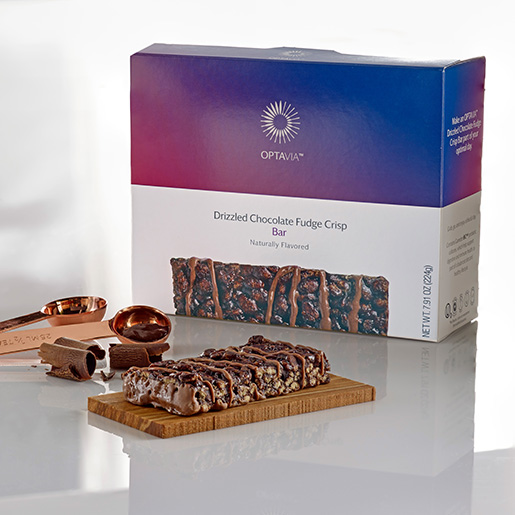Essential Drizzled Chocolate Fudge Crisp Bar (Box)