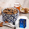 Select Wild Blueberry Almond Hot Cereal with Chia Seeds from Bolivia and Supergrains - Naturally Flavored (Box)