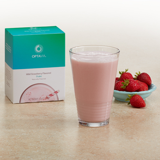 Essential Wild Strawberry Flavored Shake (Box)