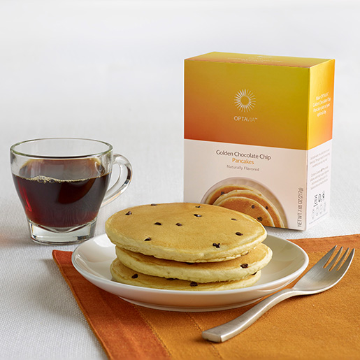 Essential Golden Chocolate Chip Pancakes (Box)